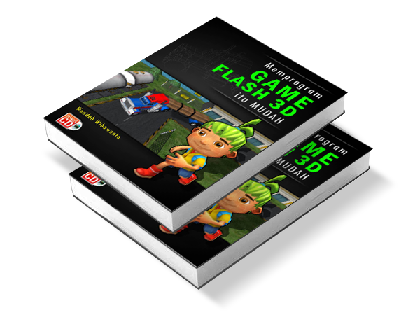 Cover buku game flash 3D