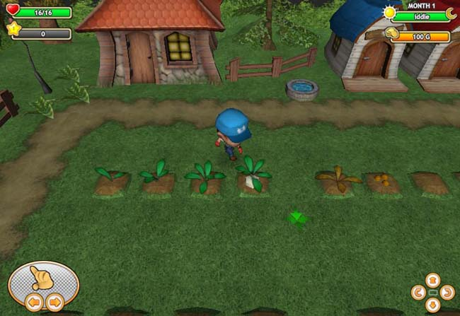 Dwarf-Village-game-screenshot