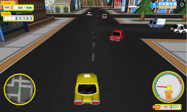 froyotaxi-screenshot