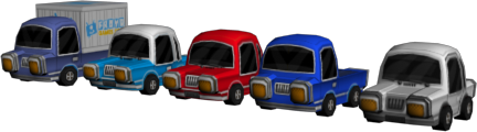 lowpoly-cars